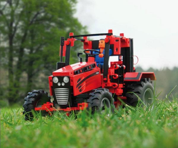 Kit de montaje tractor con apero RC Radio control fischertechnik 524325 - Ítem11