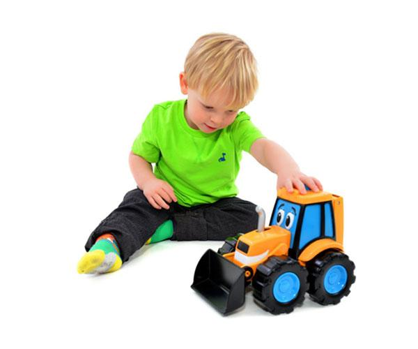 Excavadora de juguete JCB Golden Bear 4010 - Ítem1