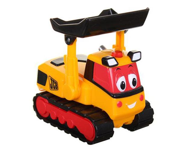 Excavadora de cadenas de juguete JCB Golden Bear 4017 - Ítem2