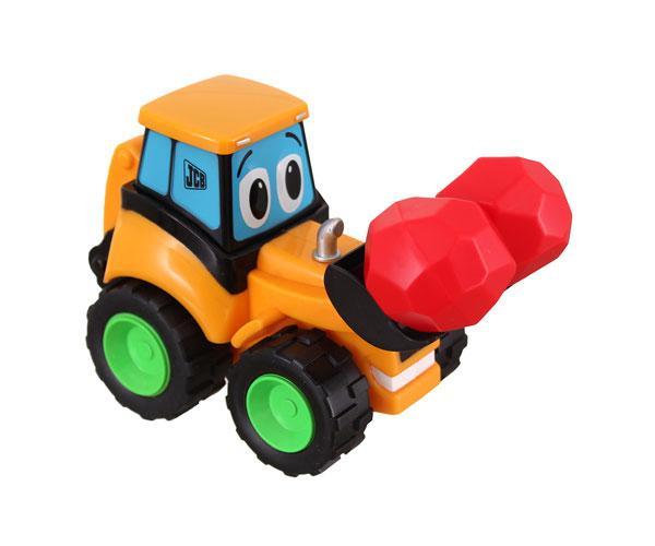 Retro excavadora de juguete JCB Golden Bear 4032 - Ítem1