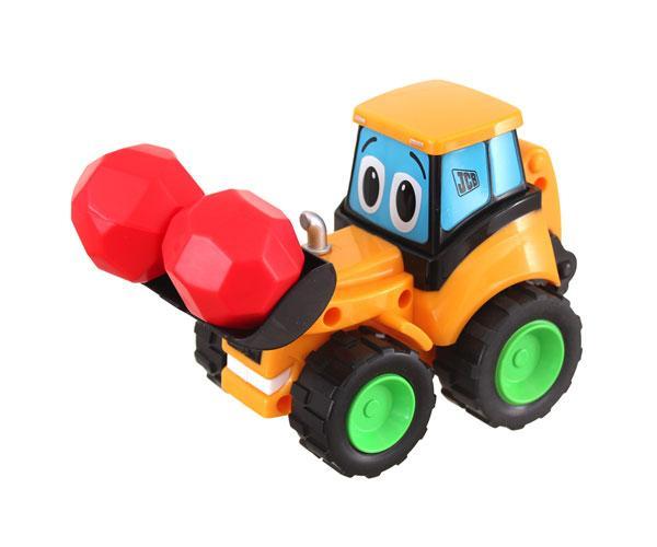 Retro excavadora de juguete JCB Golden Bear 4032
