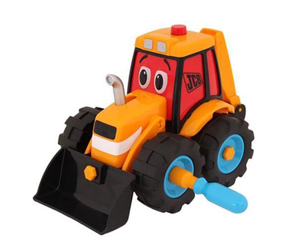 Excavadora de juguete JCB Golden Bear 4037 - Ítem3