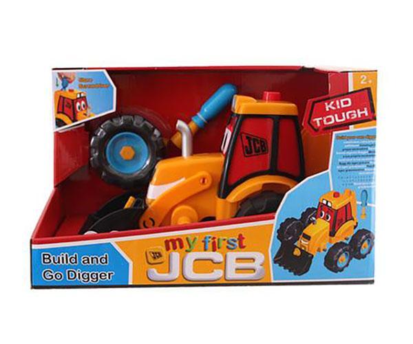 Excavadora de juguete JCB Golden Bear 4037 - Ítem9