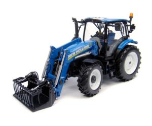 Replica tractor NEW HOLLAND T6.140 con pala 740 TL