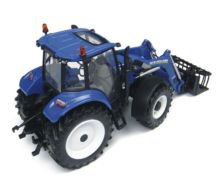 Replica tractor NEW HOLLAND T5.115 con pala 740TL - Ítem1
