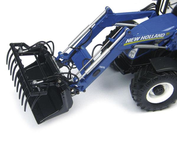Replica tractor NEW HOLLAND T5.115 con pala 740TL - Ítem2