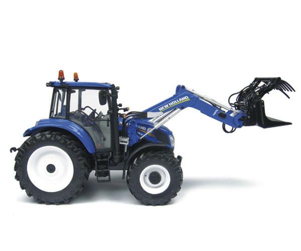Replica tractor NEW HOLLAND T5.115 con pala 740TL - Ítem4
