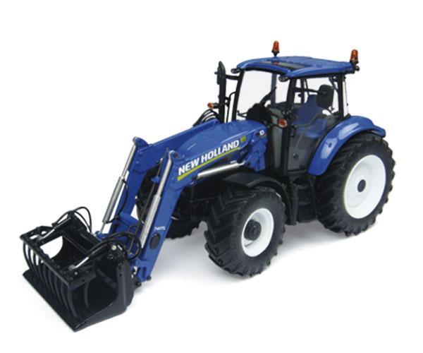 Replica tractor NEW HOLLAND T5.115 con pala 740TL