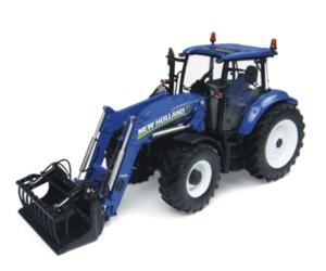 Replica tractor NEW HOLLAND T5.115 con pala 740TL