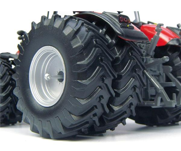 Replica tractor MASSEY FERGUSON 8737 ruedas gemelas - Ítem3