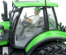 Replica tractor DEUTZ-FAHR 7250 TTV 6 ruedas - Ítem4