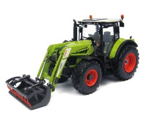 Replica tractor CLAAS Arion 530 con pala