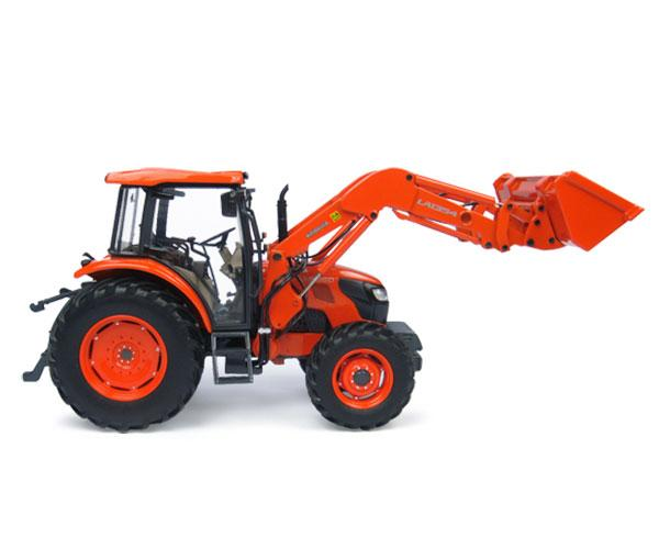 Replica tractor KUBOTA M9960 con pala