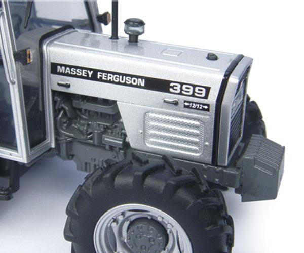 Replica tractor MASSEY FERGUSON 399 Silver edition - Ítem2