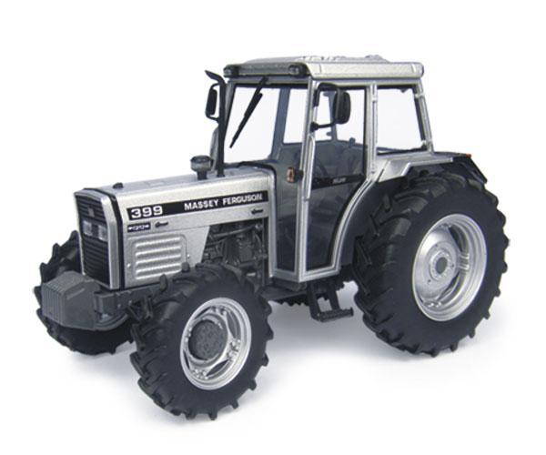 Replica tractor MASSEY FERGUSON 399 Silver edition