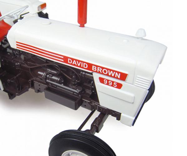 Replica tractor DAVID BROWN 995 (1972) Universal Hobbies UH4884 - Ítem6