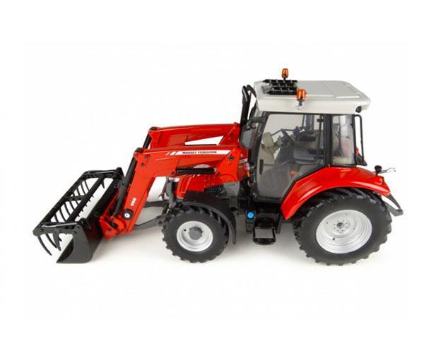 Réplica tractor MASSEY FERGUSON 5713 con pala
