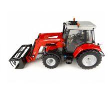 Réplica tractor MASSEY FERGUSON 5713 con pala Universal Hobbies UH4903 - Ítem1