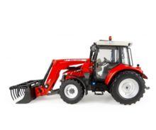 Réplica tractor MASSEY FERGUSON 5713 con pala Universal Hobbies UH4903 - Ítem2
