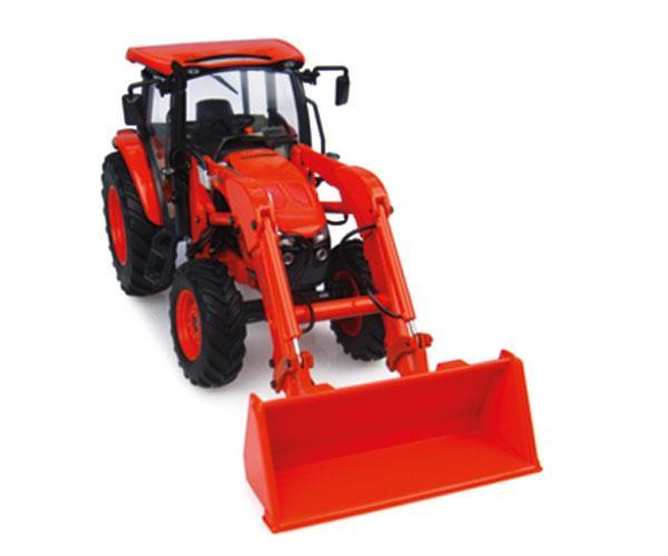 Replica tractor KUBOTA M5-111 con pala UH4924 Universal Hobbies - Ítem3