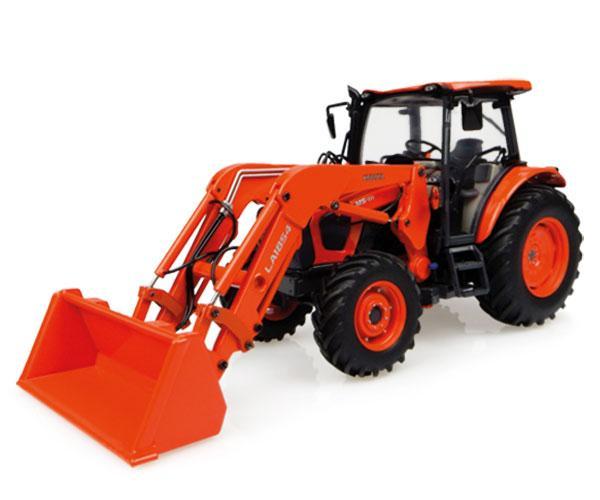 Replica tractor KUBOTA M5-111 con pala UH4924 Universal Hobbies