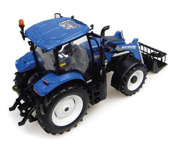Réplica tractor NEW HOLLAND T6.145 con pala 740TL Universal Hobbies UH4956 - Ítem2