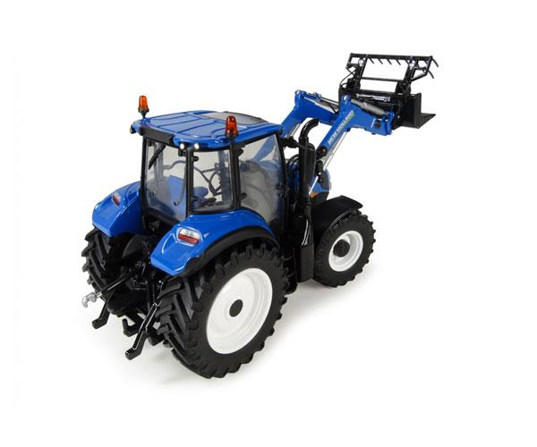 Réplica tractor NEW HOLLAND T5.120 con pala Universal Hobbies UH4958 - Ítem1