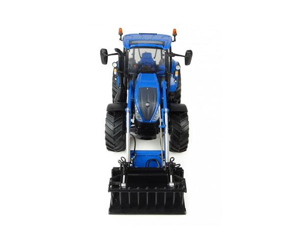 Réplica tractor NEW HOLLAND T5.120 con pala