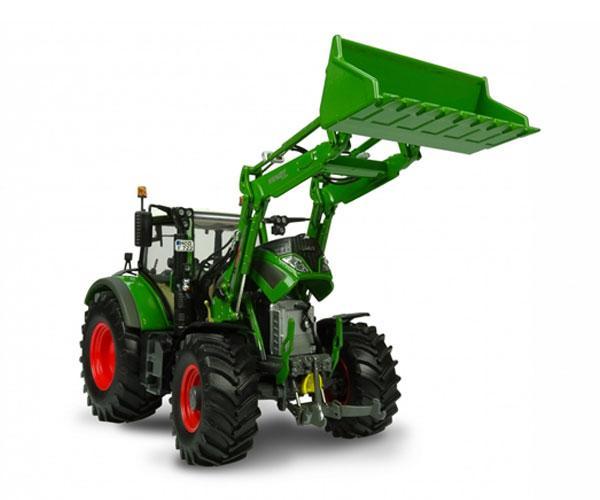 Réplica tractor FENDT 722 con pala Universal Hobbies UH4975 - Ítem1