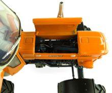 UNIVERSAL HOBBIES 1:32 Tractor FIAT 750 Special DT - 4 WD con cabina FRITZMEIER - Ítem5