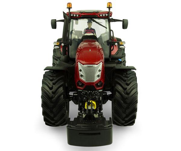 UNIVERSAL HOBBIES 1:32 Tractor Mc Cormick X8.680 Version Burgundy - Ítem4