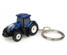 Llavero tractor NEW HOLLAND T7.225 Blue Power Universal Hobbies UH5814 - Ítem2