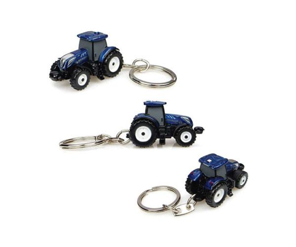 Llavero tractor NEW HOLLAND T7.225 Blue Power Universal Hobbies UH5814 - Ítem1