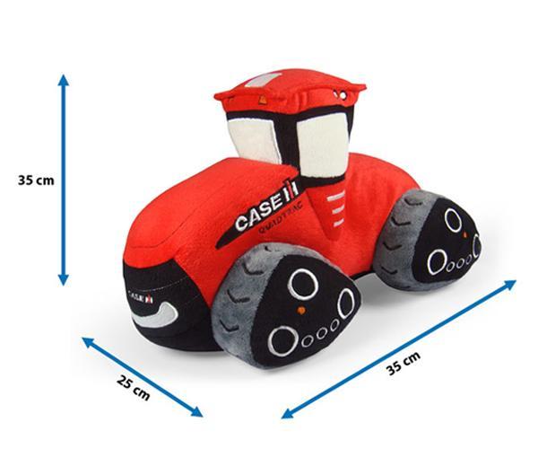 Peluche tractor CASE IH Quadtrac - Ítem1
