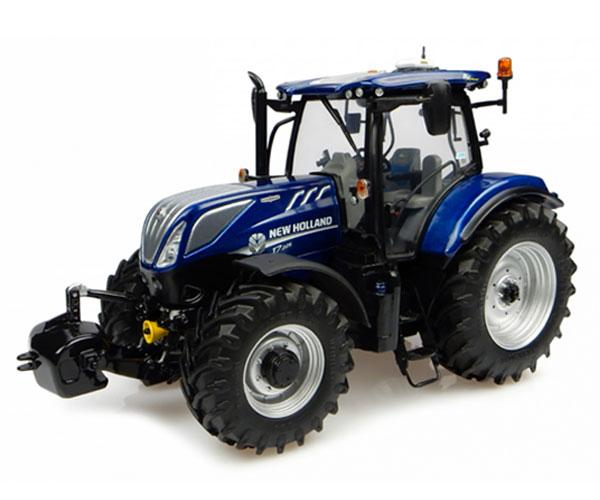 Replica tractor NEW HOLLAND T7.225 BLUE POWER Universal Hobbies UH4900
