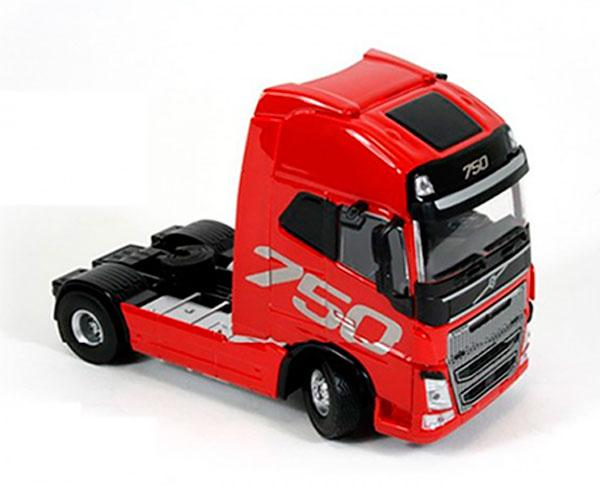 Miniatura camión VOLVO FH Globetrotter XL Fire Red