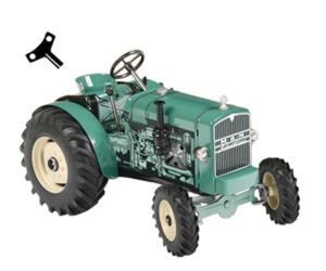 Tractor de cuerda MAN AS 325 A