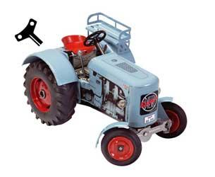 Tractor de cuerda EICHER ED 125