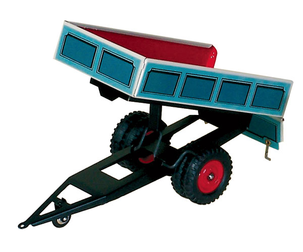 Remolque para tractores de cuerda