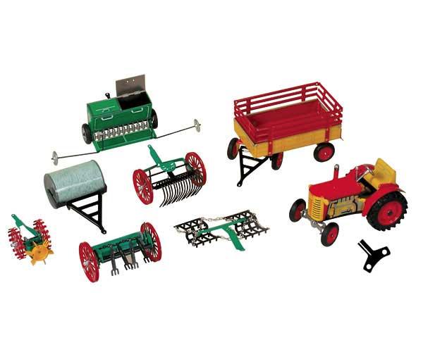 Agro Set 2 - Tractor de cuerda con aperos - Ítem4