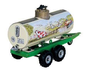 Remolque cisterna para tractores de cuerda