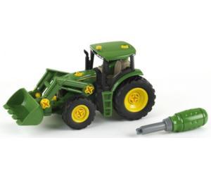Tractor de juguete JOHN DEERE con pala 3903