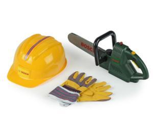 Pack moto sierra, casco y guantes BOSCH Klein 8435