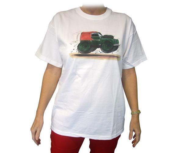 Camiseta Land Rover Serie II talla XL