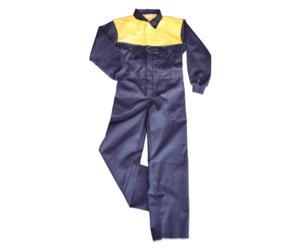 Mono infantil azul amarillo talla 7 u 8 años