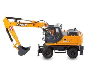 Miniatura retrocargadora CASE WX168 Motorart 13797