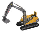 Miniatura excavadora VOLVO EC210CL