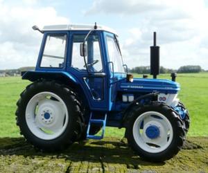 Replica tractor FORD 7610 4WD