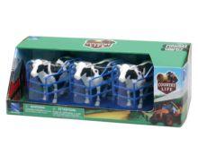 Pack de 3 vacas con cubículos New Ray 05016 - Ítem1