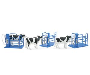 Pack de 3 vacas con cubículos New Ray 05016